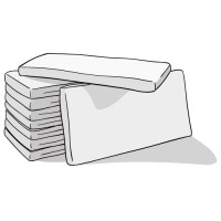 Недорогие матрасы (Тип матраса  Пружинный, Независимый блок пру)