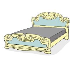 Кровати из ДСП и МДФ