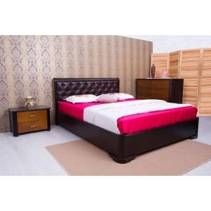 Кровать Олимп Милена с мягкой спинкой, , 9 958 грн., 305, Олимп, Кровати из дерева