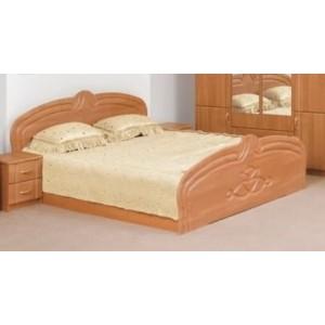 Кровать Антонина , , 2 778 грн., 277, Світ Меблів, Кровати из ДСП и МДФ