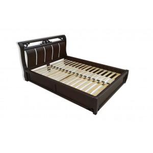 Кровать Лувр, , 8 900 грн., 160, DekArt, С нишей для белья