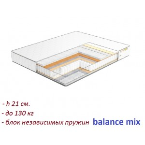 Матрас Musson Balance Mix, , 1 841 грн., 9, Musson, Матрасы