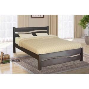 Кровать Волна, , 4 815 грн., 169, Mix-Mebli, Кровати из дерева