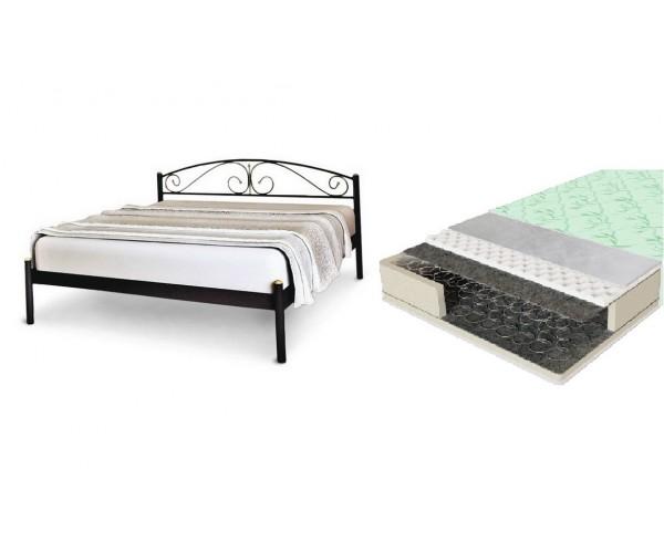 Кровать Верона с матрасом ComFort зима/лето